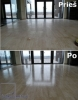 Impregnation of stone-mass tiles