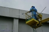 High-rise cleaning and washing of facades, windows