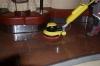 Kietų paviršių plovimas su plovimo mašina